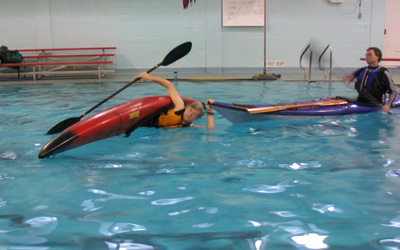 Bow rescue, Connetquot High School Pool